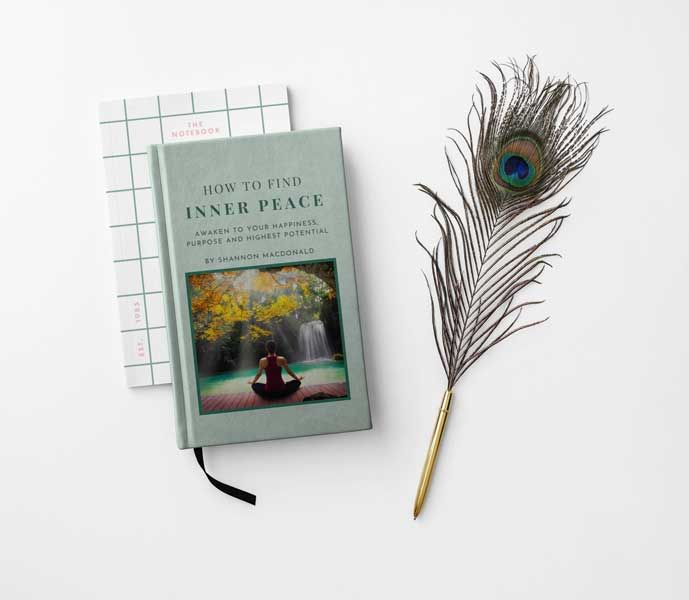 Mockup for Shannon MacDonald's Free eBook - How to Find Inner Peace